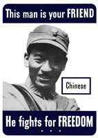 This Man is Your Friend - Chinese by John Parrot - various sizes