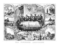President Ulysses Grant Signing the 15th Amendment by John Parrot - various sizes, FulcrumGallery.com brand