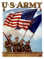 U.S. Army - Guardian of the Colors Fine Art Print