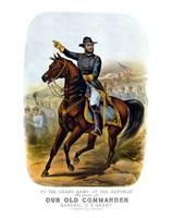 General Ulysses S Grant on Horseback Fine Art Print