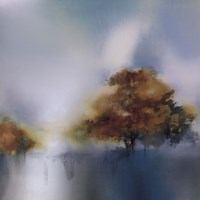 Old Oaks & Sea Mist Fine Art Print
