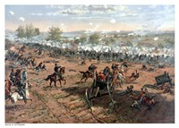 Battle of Gettysburg Fine Art Print