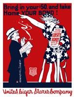 United Cigar Bond Poster by John Parrot - various sizes