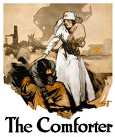 The Comforter - Red Cross Fine Art Print
