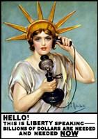 Liberty Speaking by John Parrot - various sizes - $47.49