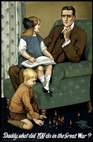 Daddy, What Did You Do? by John Parrot - various sizes