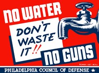 No Water, No Guns Fine Art Print