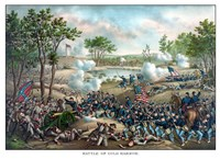 Battle of Cold Harbor by John Parrot - various sizes