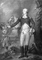 General George Washington at The Battle of Trenton by John Parrot - various sizes