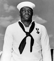 Doris Dorie Miller, a Cook in the US Navy by John Parrot - various sizes