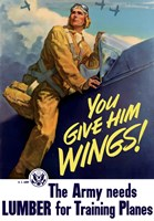 You Give Him Wings by John Parrot - various sizes