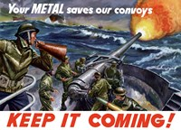 Keep It Coming - Metal Saves Convoys by John Parrot - various sizes