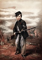 Union Drummer Boy with Rifle by John Parrot - various sizes - $47.99