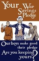 Vintage World War I - Uncle Sam by John Parrot - various sizes