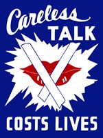 Careless Talk Costs Lives by John Parrot - various sizes - $47.99