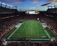 Sports Authority Field at Mile High Stadium 2014 Fine Art Print