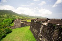 Brimstone Hill Fortress, Built 1690-1790, St Kitts, Caribbean by Greg Johnston, 1790 - various sizes