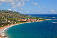Half Moon Bay, Marriott Resort, St Kitts, Caribbean Fine Art Print