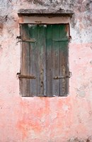 Exterior of Building, St Pierre, Martinique, French Antilles, West Indies Fine Art Print