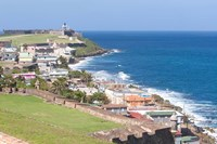 View towards El Morro from Fort San Cristobal in San Juan, Puerto Rico by Jerry & Marcy Monkman - various sizes
