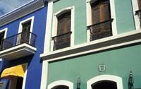 Street Scene, Old San Juan, Puerto Rico Fine Art Print