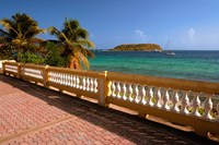 Puerto Rico, Esperanza, Vieques Island and boats Fine Art Print