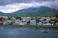 Waterfront, Basseterre, St Kitts, Caribbean Fine Art Print