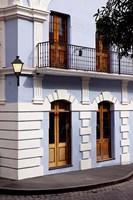 Colorful buildings in old San Juan, Puerto Rico Fine Art Print