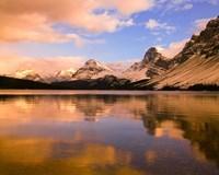 Bow Lake, Banff NP, Alberta, Canada Fine Art Print