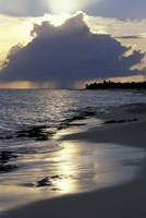 Rouge Beach on St Martin, Caribbean by Robin Hill - various sizes