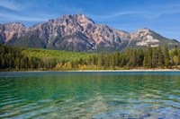 Patricia Lake and Pyramid Mountain, Jasper NP, Alberta, Canada Fine Art Print