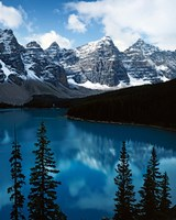 Lake Moraine, Banff National Park, Alberta, Canada Fine Art Print