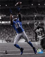 Calvin Johnson 2014 Spotlight Action Fine Art Print