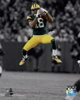 Randall Cobb 2014 Spotlight Action Fine Art Print