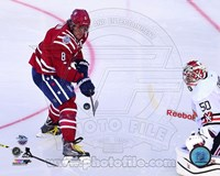 Alex Ovechkin 2015 NHL Winter Classic Action Fine Art Print