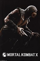 Mortal Kombat X - Scorpion Wall Poster