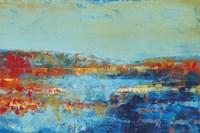Shoreline Glimmer II Fine Art Print