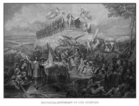 Christopher Columbus Arriving in America by John Parrot - various sizes