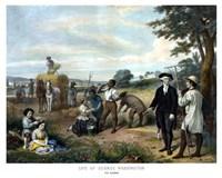 George Washington On His Farm by John Parrot - various sizes - $47.49