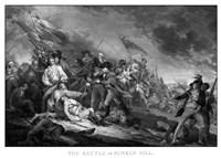 Battle of Bunker Hill (American Revolutionary War) Fine Art Print