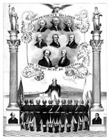 First Eight Presidents of The United States by John Parrot - various sizes, FulcrumGallery.com brand