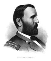 General Ulysses S Grant (vintage Civil War) by John Parrot - various sizes