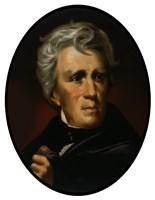 President Andrew Jackson (color portrait) Fine Art Print