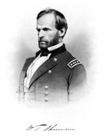 General William Tecumseh Sherman by John Parrot - various sizes
