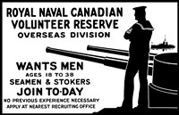 Royal Naval Canadian Volunteer Reserve Fine Art Print