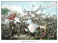 Assault on Fort Sanders by John Parrot - various sizes