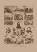 Presidents Grant, Lincoln and Washinton by John Parrot - various sizes - $47.99