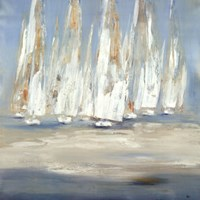 "Regatta by Lisa Ridgers - 35"" x 35"""