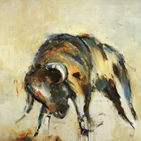 "Toro by Lisa Ridgers - 30"" x 30"""