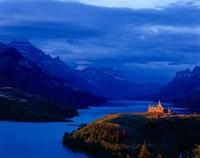 Prince of Wales Hotel, Wateron Lakes National Park, Alberta, Canada Fine Art Print